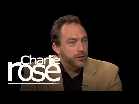 Jimmy Wales 1   Charlie Rose