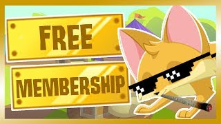(Animal Jam) HOW TO GET FREE MEMBERSHIP 2018! *NOT CLICKBAIT*