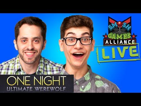 ONE NIGHT ULTIMATE WEREWOLF LIVE W SMOSH SQUAD (SGA Live)