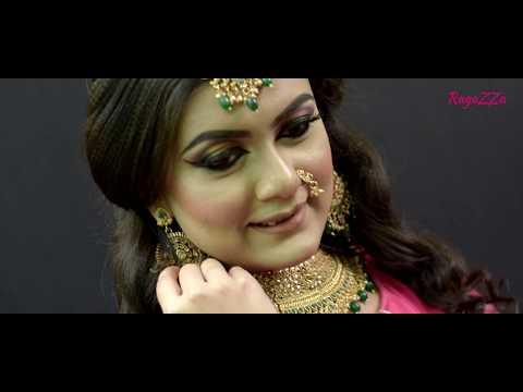 Indian Bridal Reception Look By Dona Dutta | RagaZZa