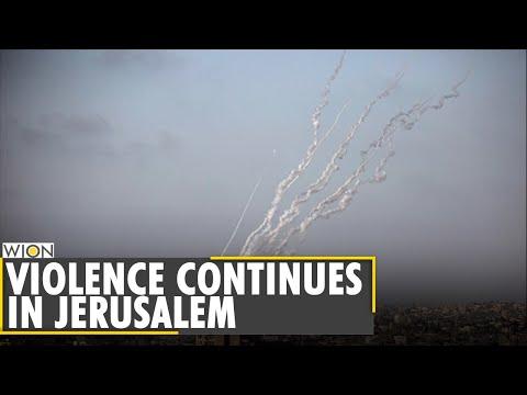 Jerusalem violence leads to Hamas rockets on Israel   Palestine unrest   Latest World English News