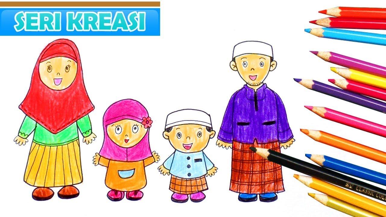 Kartun Keluarga Muslim