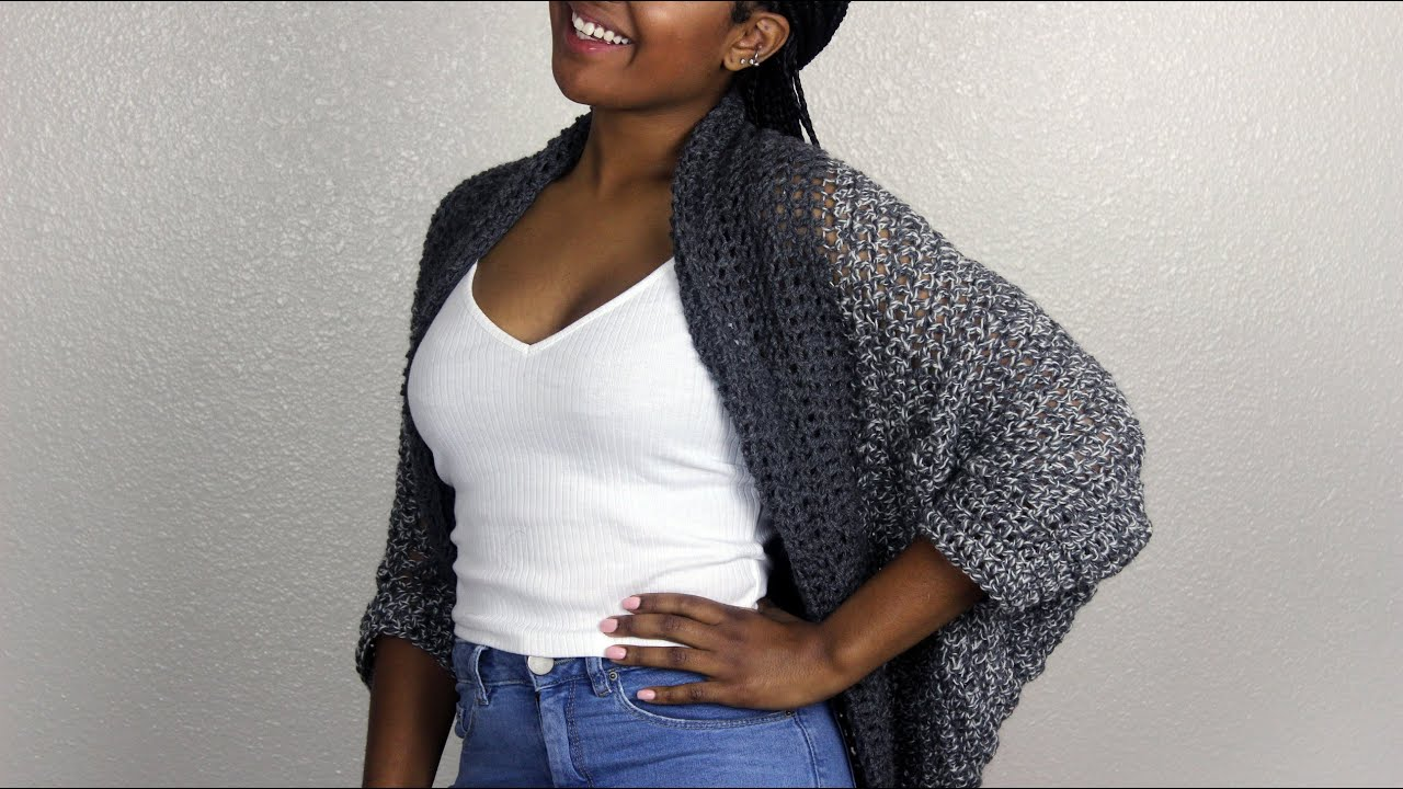 Simple Cozy Shrug