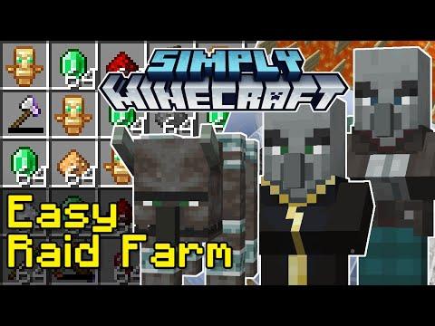 Easy Raid Farm Tutorial | Simply Minecraft (Java Edition 1.17)