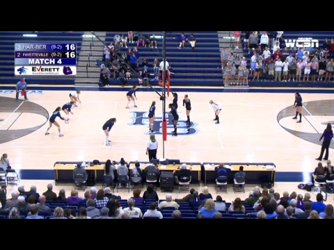 Har-Ber High School Volleyball | Har-Ber vs. Fayetteville