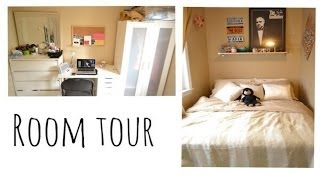 watch in 1080p Hey everyone! Here is my new room! it is definitely a lot smaller that my previous room tour but i really like the space
