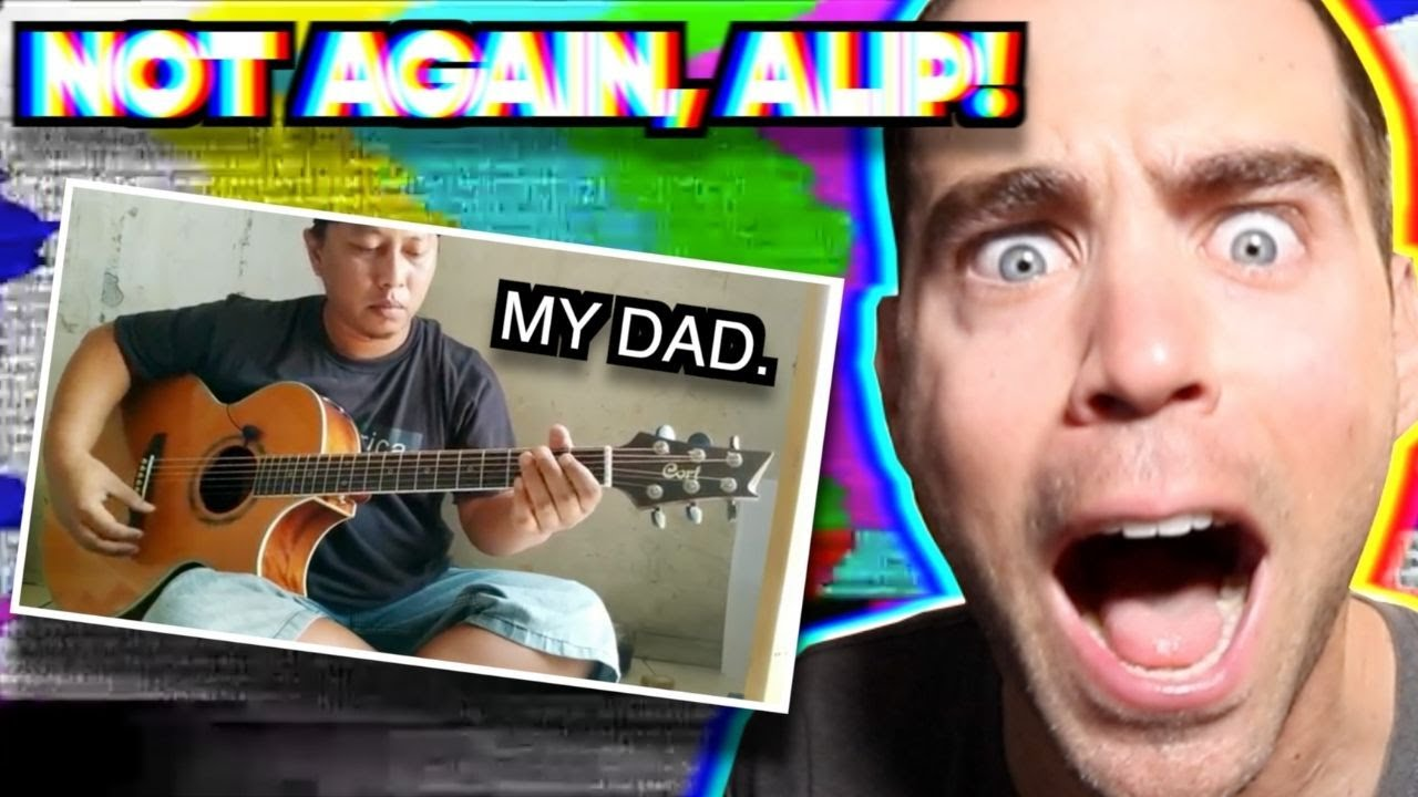 Alip Ba Ta - Apuse (Lagu Daerah Papua) | Fingerstyle Cover | REACTION