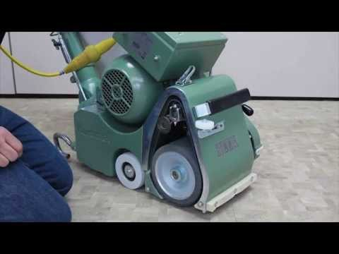 - Lagler 8 Hummel Floor Sanding Machine - YouTube