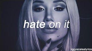 Iggy Azalea - Hate On It (Lyrics)