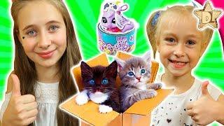 Нашли ТАЙНЫЕ КОРОБОЧКИ С СЮРПРИЗАМИ Littlest Pet Shop Food Fest петы в консервных баночках от Hasbro