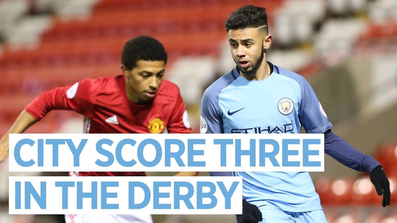 City Blow Away United In U23 Derby Man United U23s 1 3 Man City U23s Highlights Youtube