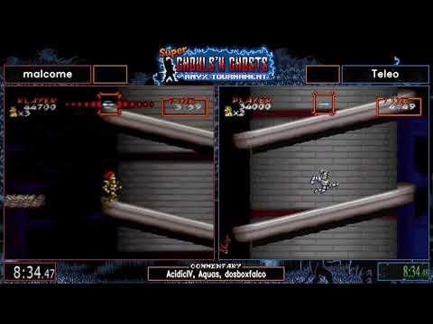 malcome vs Teleo. Super Ghouls'n Ghosts Tournament 2019