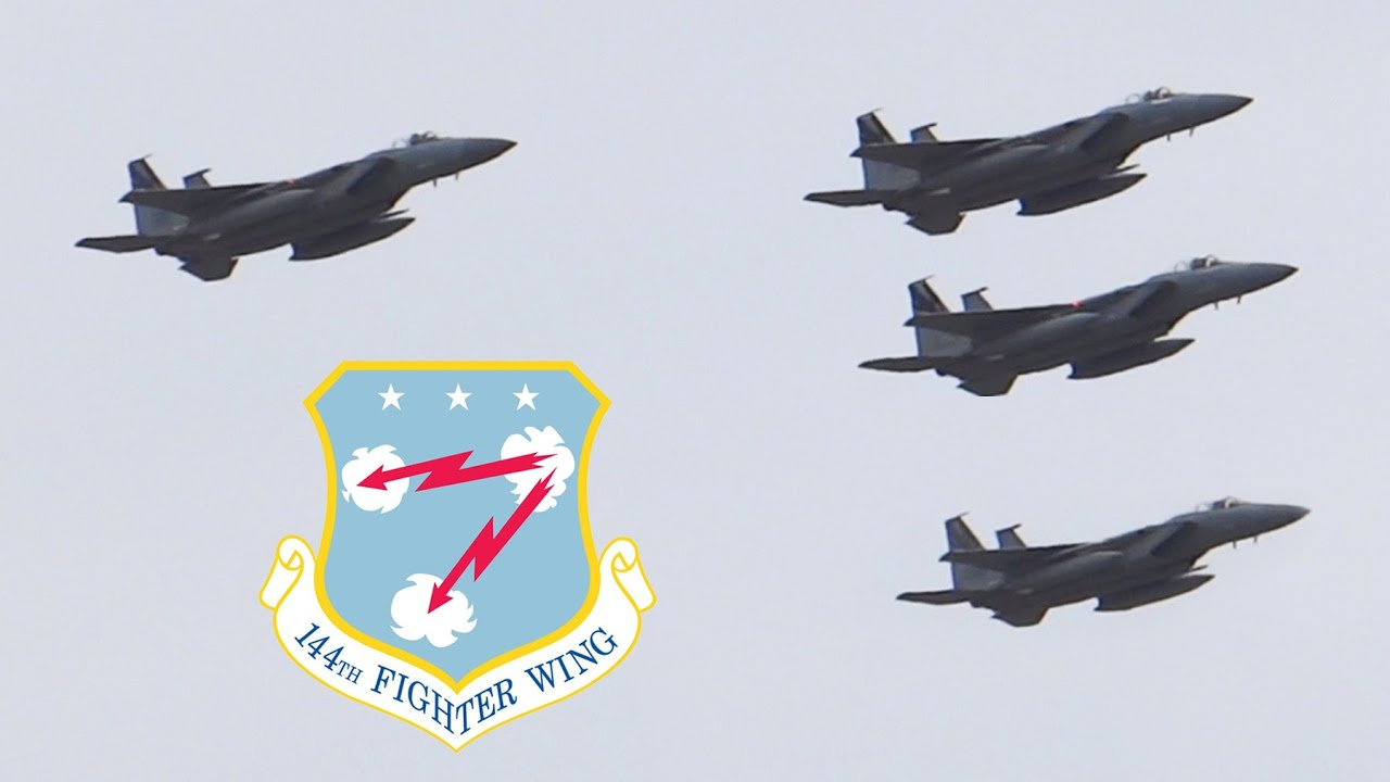 Download F-15 Salute | 144th Fighter Wing Salute to Health Care Workers
