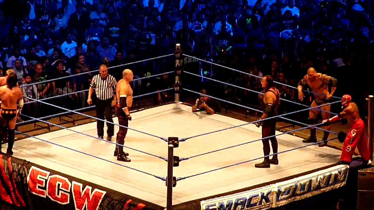 The undertaker vs the twin towers clip - 2 4