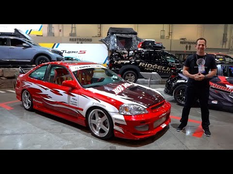 Is this 1999 Honda Civic Si the MOST ICONIC import tuner car?