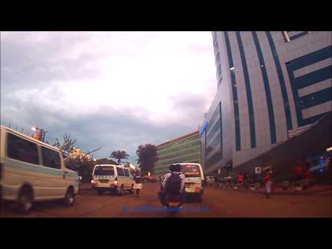 Kampala Drive - Early Morning Downtown