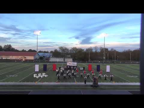 Pike Central High School Marching Band 10-21-2017