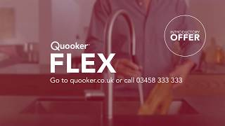Quooker Flex TVC UK intro offer