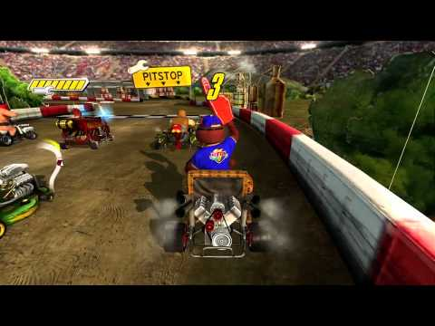 Jimmie Johnson's Anything With An Engine - Gameplay