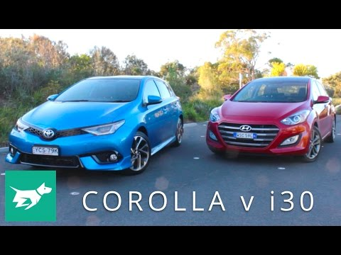 Hyundai i30 vs Toyota Corolla – which small car is best?