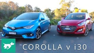 Hyundai i30 vs Toyota Corolla which small car is best