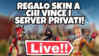 SKIN REGALO TO WHO WINS IN THE PRIVATE SERVER FORTNITE AERYX TEAM