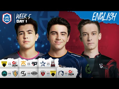 Clash Royale League: CRL West Fall 2019 | Week 5 Day 1! (English)