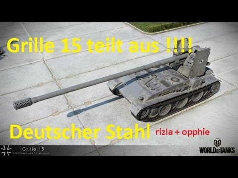 World of Tanks Gast-Replay 0167 (deutsch)  Deutscher Stahl 1