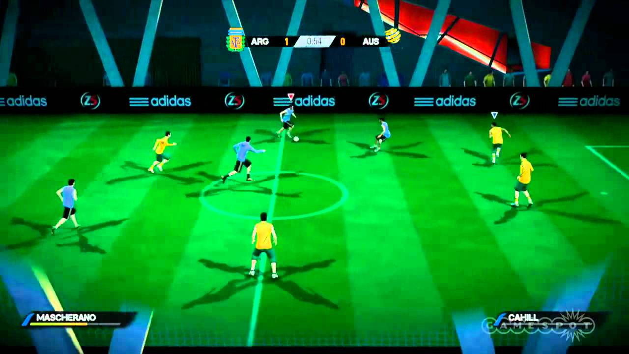 Argentina Vs Australia  A Side Fifa Street Gameplay Xbox  Youtube