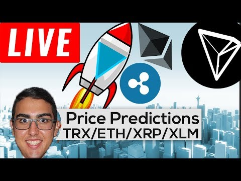 Price Predictions: Tron ($TRX), Ethereum ($ETH), Ripple ($XR