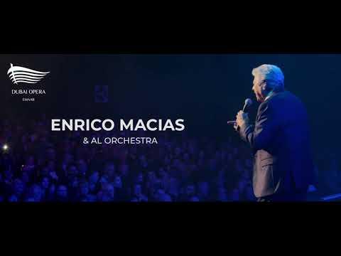 Enrico Macias in Dubai Opera 2021
