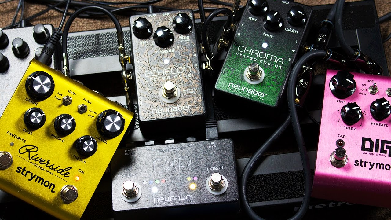 Ambient Guitar Pedals : ambient guitar walkthrough part 2 effects pedals chain neunaber expanse immerse strymon dig ~ Russianpoet.info Haus und Dekorationen