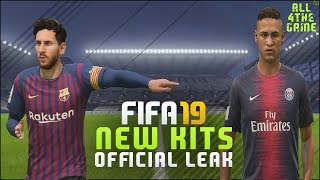 FIFA 19 NEW HOME KITS   Real Madrid - Barcelona - FC Bayern - Liverpool & more   FIFA 18 Mod