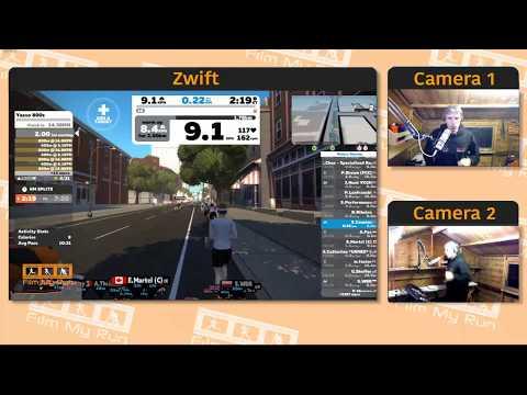 Zwift Running | Yasso 800s | 10x800m Intervals