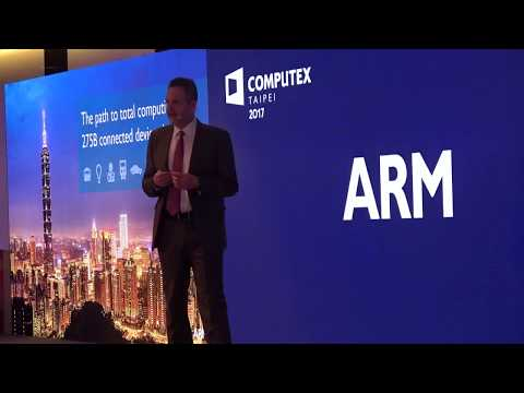 ARM Keynote: Rene Haas, ARM IP Group President at Computex 2017 CPX Conference