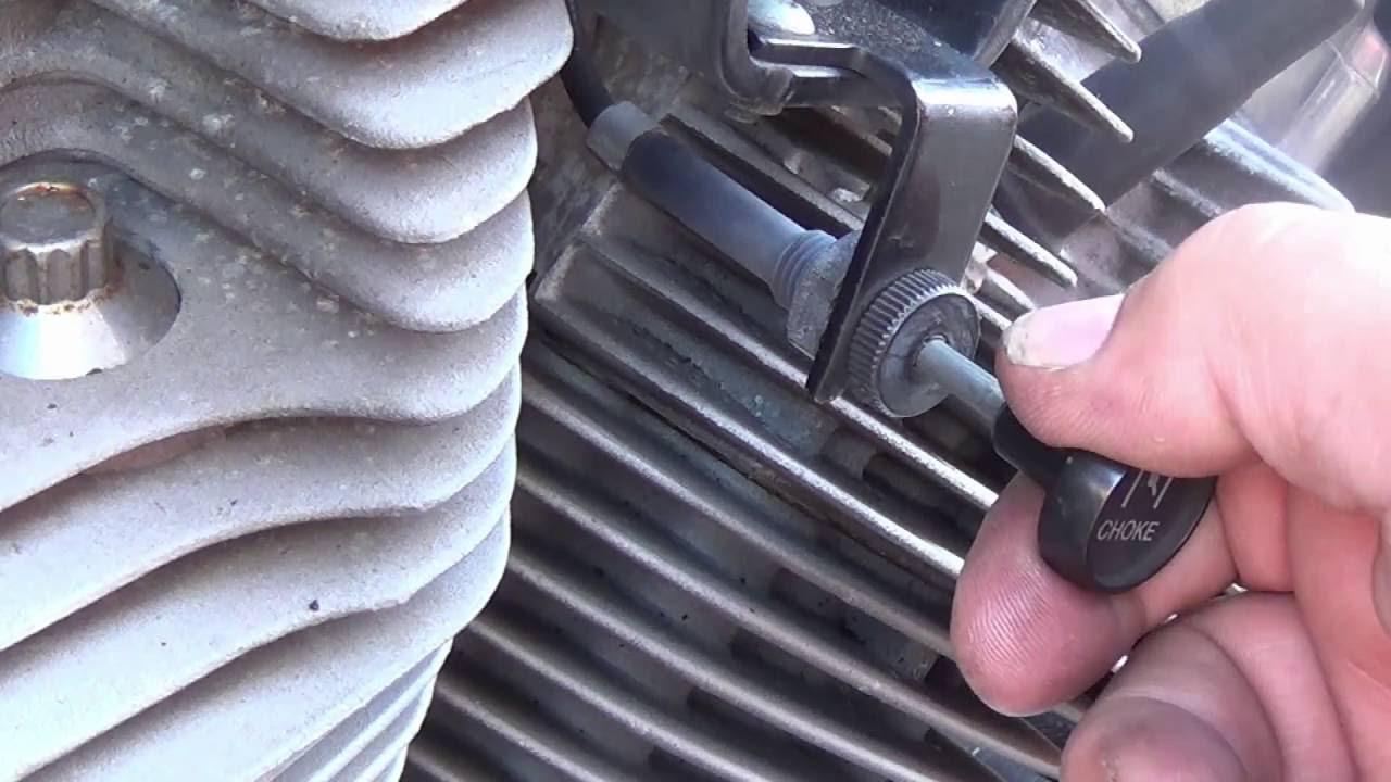 harley choke adjustment sportster [ 1280 x 720 Pixel ]