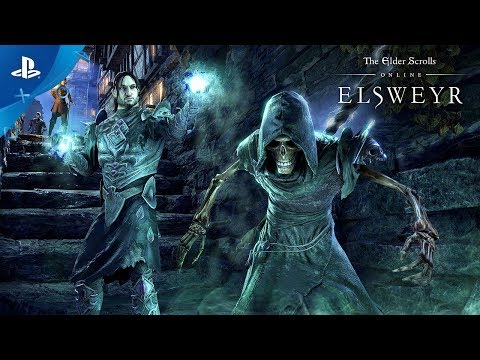 The Elder Scrolls Online: Elsweyr - Become The Necromancer   PS4
