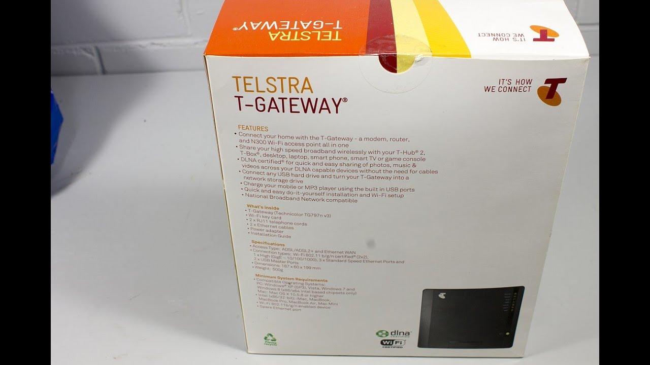 Telstra nbn t gateway user manual