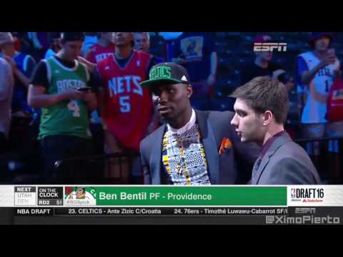 2016 NBA Draft   #51 Pick׃ Ben Bentil   Boston Celtics