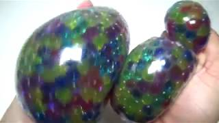 Clay Liquid Slime Monster PlayDoh Color Orbeez Balloons Stressball Name Game