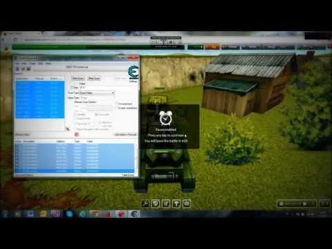 HOW TO HACK CRYSTALS - TANKI ONLINE - cheat engine 6.4