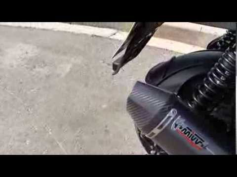 kymco xciting 400i mivv exhaust sound check with db. Black Bedroom Furniture Sets. Home Design Ideas