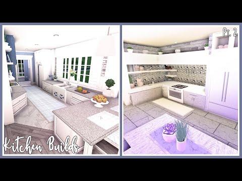 Bloxburg   Kitchen Design Ideas pt.2 (also wall aquarium and coffee table idea)