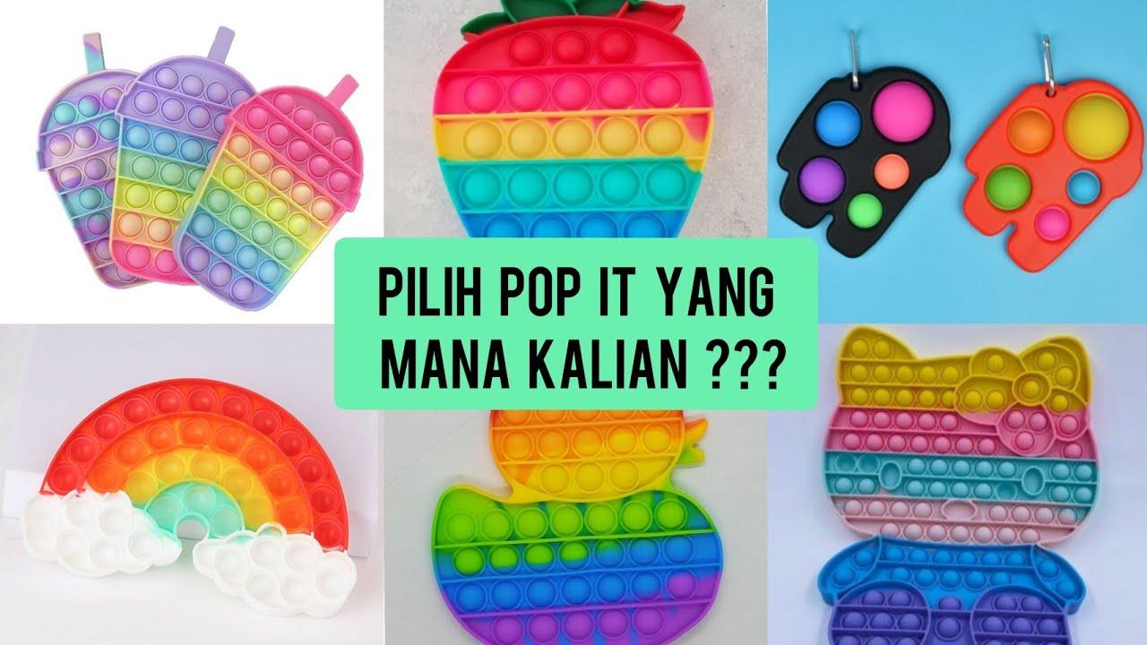 PILIH POP IT YANG MANA KALIAN ??? || POP IT HELLO KITTY ATAU POP IT YANG MANA ?|| TIKTOK VIRAL VIDEO