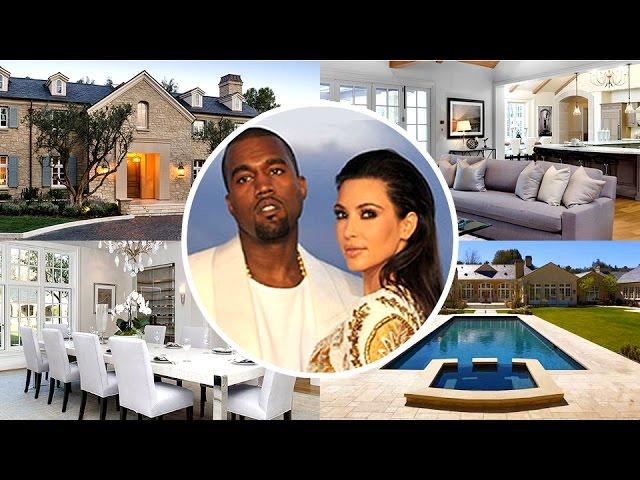 Kim Kardashian & Kanye West House Tour - 2016