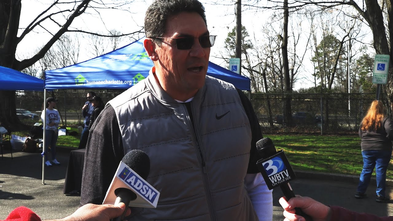 Ron Rivera yard sale garners more than 30K for Charlotte Humane Society