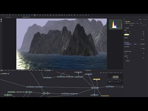 Blackmagic Fusion: LANDSCAPE TUTORIAL PT2