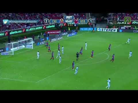 Gol de Toño Rodriguez (Chivas vs Veracruz)