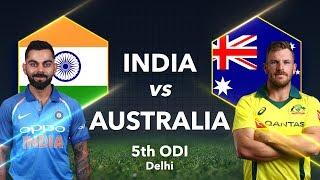 India vs Australia, 5th ODI: Preview