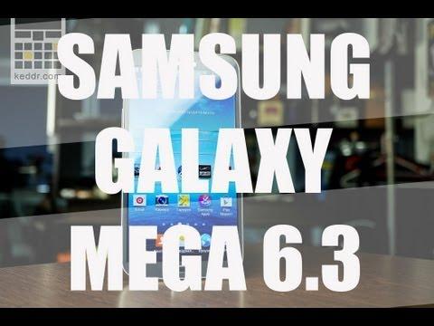 Samsung Galaxy Mega 6.3 - Обзор Огромного Смартфона от keddr.com